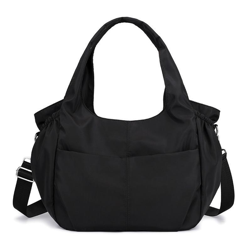 Fashion Waterproof Women Handbag Casual Large Shoulder Hobos Bag Nylon Big Capacity Tote Luxury Top-handle Design Crossbody Bag Y19061803
