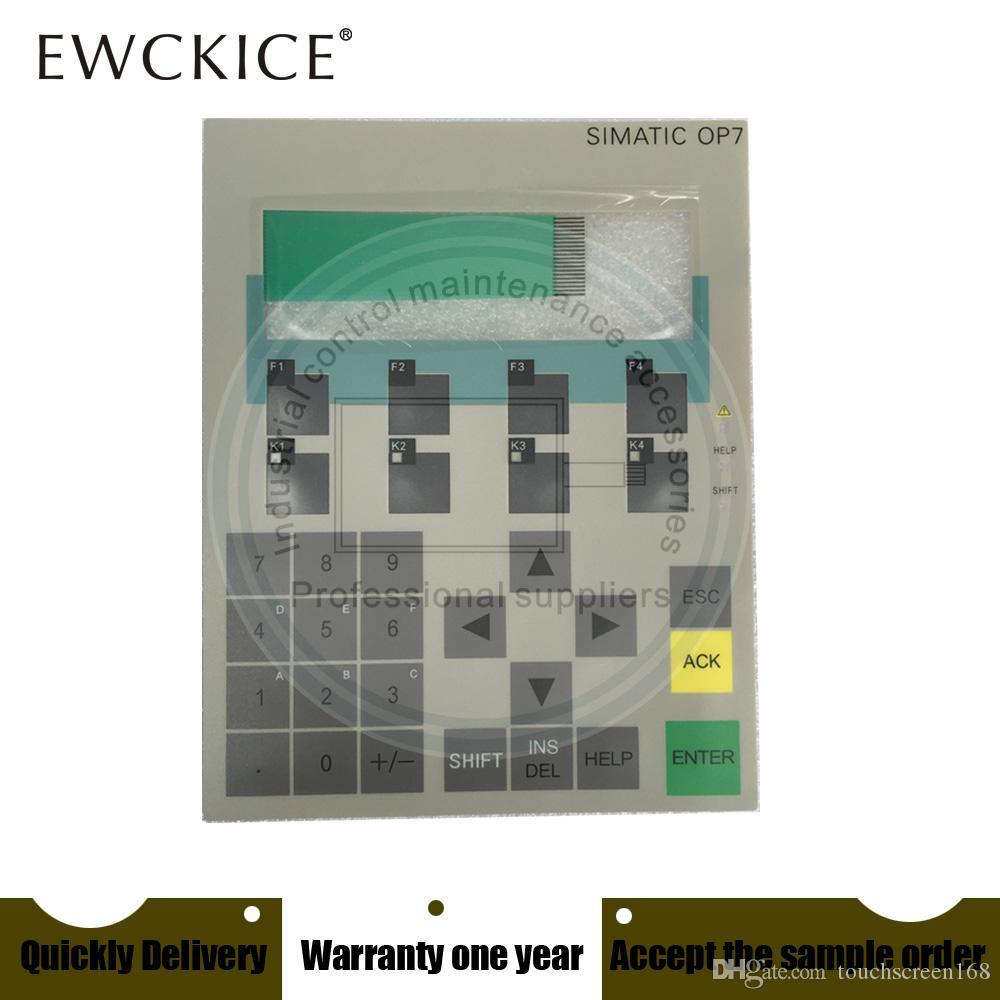 Original NEW OP7 6AV3 607-1JC20-0AX1 6AV3607-1JC20-0AX1 PLC HMI Industrial Membrane Switch keypad Industrial parts