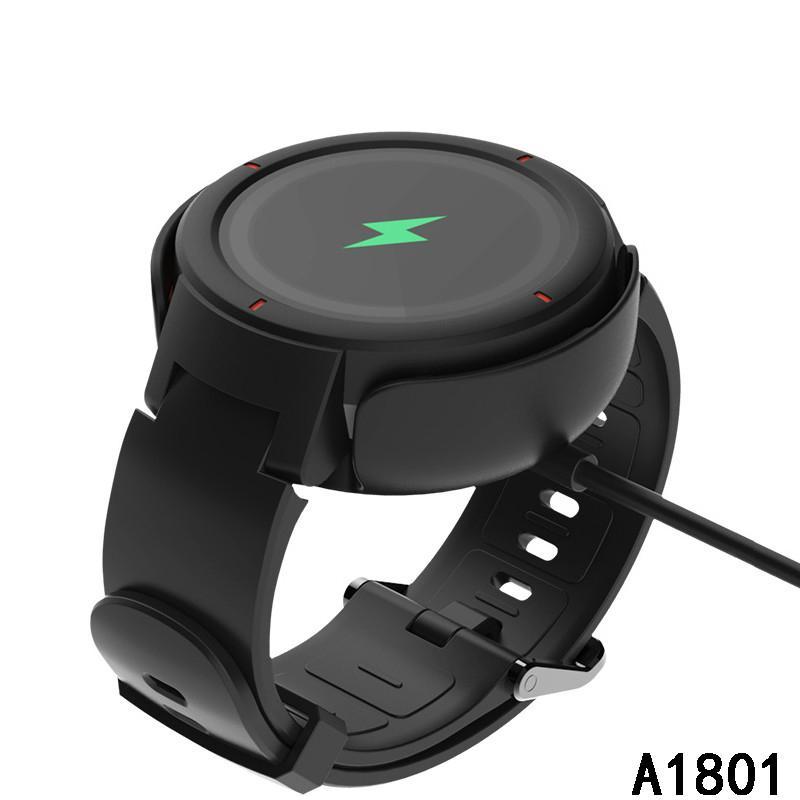 Para Xiaomi Huami Amazfit Verge USB A1801 Charger Cable 100cm rápida doca de carregamento de linha para AMAZFIT relógio inteligente