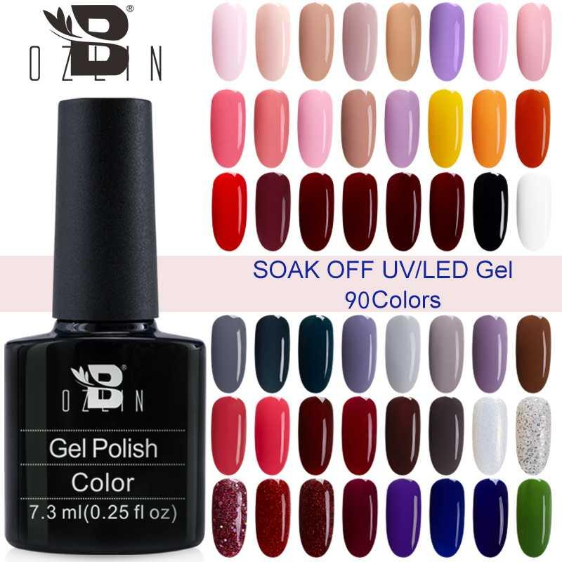 Bozlin Color Gel Series Nail Polish Colors Soak Off Led Or Uv Gel Polish High Quality Nails Art White Lacquer From Goddare 34 28 Dhgate Com