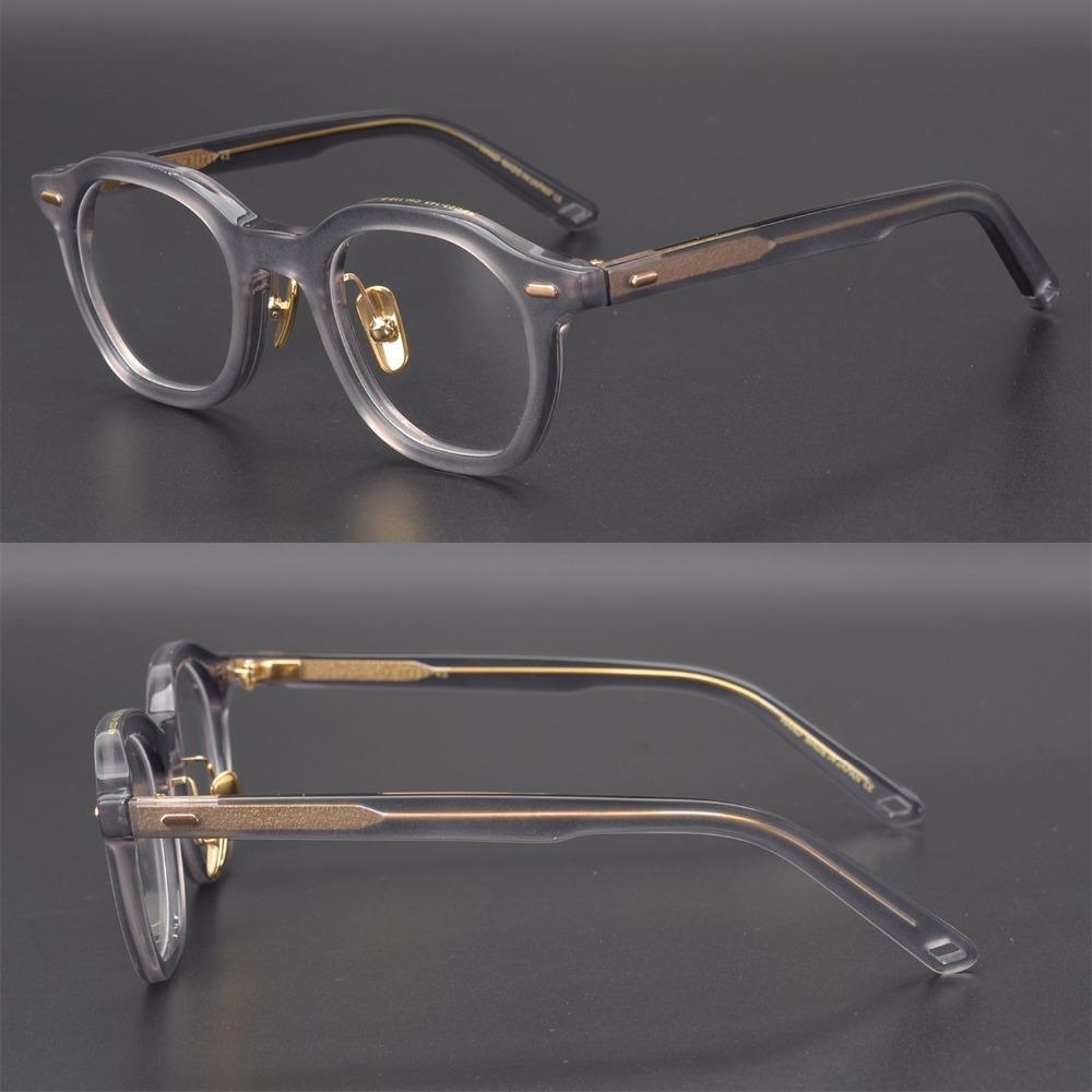 Calidad de la vendimia gafas de acetato marco OG Betsy polígono gafas hombres caja original de la caja de la lente de la prescripción shiping libre