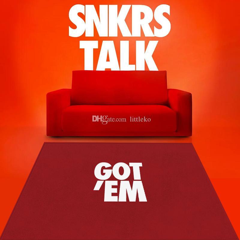 Домашняя обстановка модный Ki X получил их Snkrstalk GoteM ковер коврик для ковров на полу салон спальня большие ковры поставщик