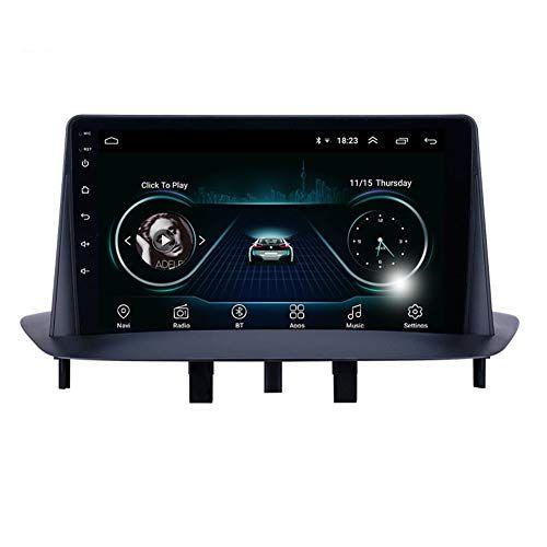 "9"" Android 9.0 HD Dokunmatik GPS Navigasyon Araç Video Çalar Bluetooth WIFI desteği Carplay TSK ile 2009-2014 Renault Megane 3"