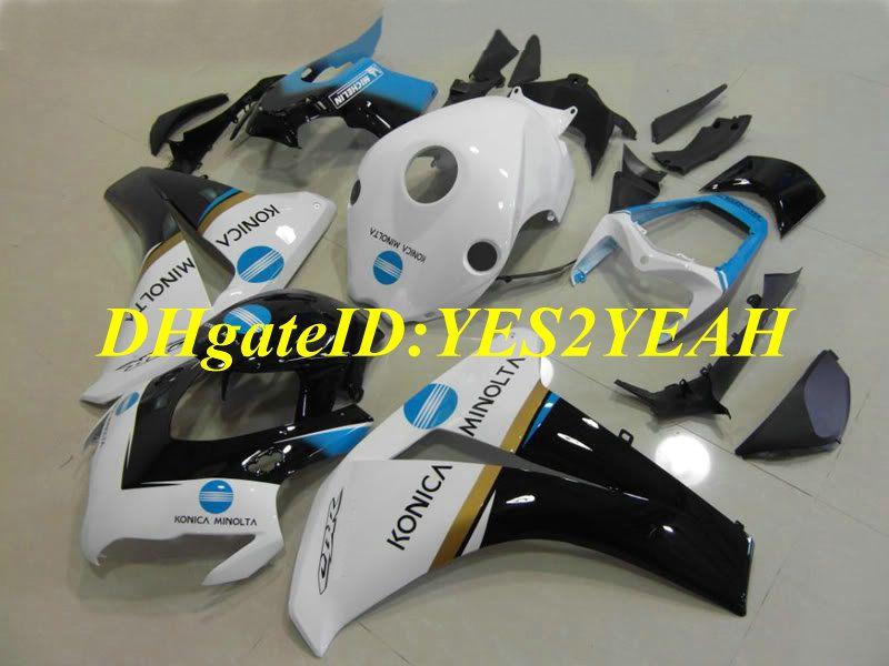 Motorrad Verkleidung für Honda CBR1000RR 08 09 10 11 CBR 1000RR 2008 2009 CBR1000 ABS Weiß schwarz Verkleidungen + Geschenke HM40