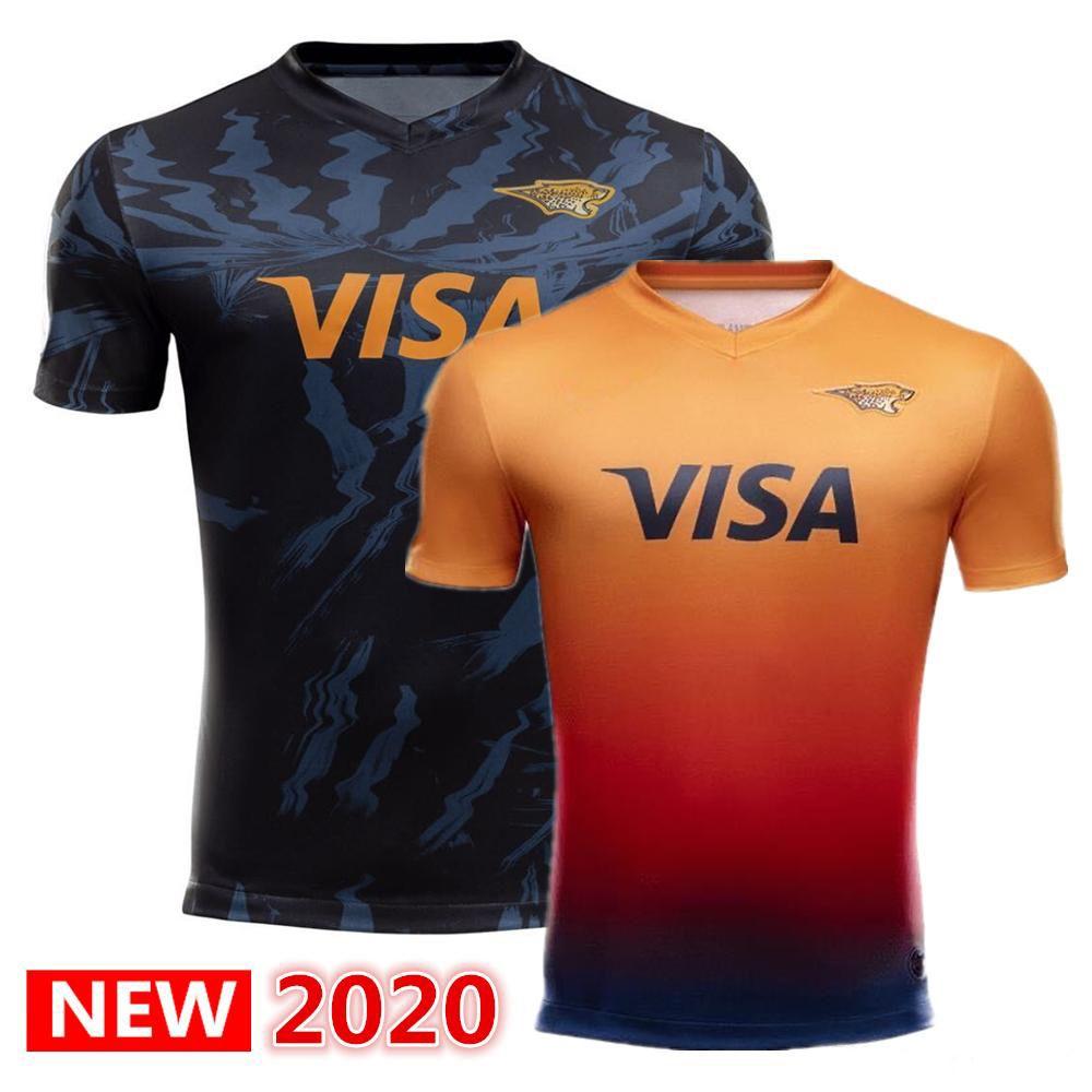 Liga Internacional jersey 2020 JAGUARES Casa e fora da liga de rugby Jerseys camisas jaguars leopard camisa jaguares Jaguares Jersey S-5xl