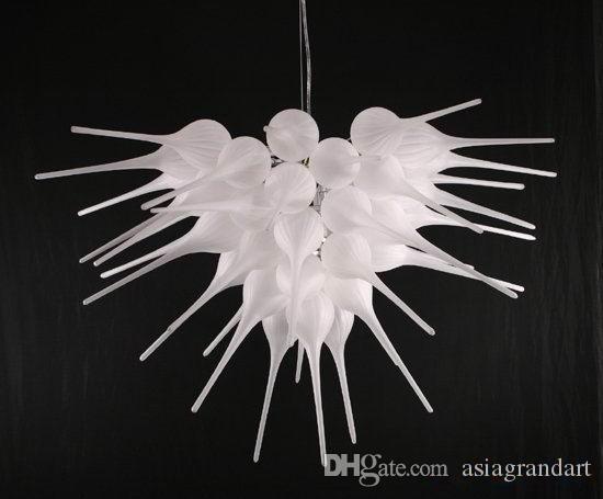 CE UL 붕규산 무라노 유리 데일 치 훌리 (Dale Chihuly) 예술 낮은 가격 작은 램프 풍선 100 % 입 불어 유리 장식