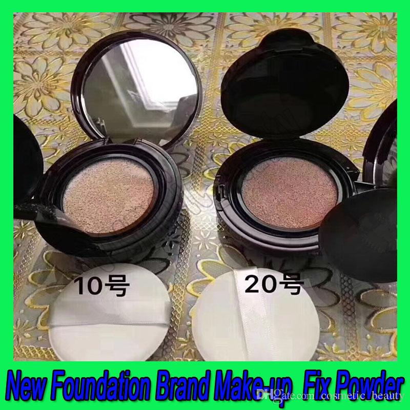 Hot sale New Foundation Brand Make-up Powder Cake Easy to Wear Face Powder Blot Pressed Powder Sun Block Foundation free shipping