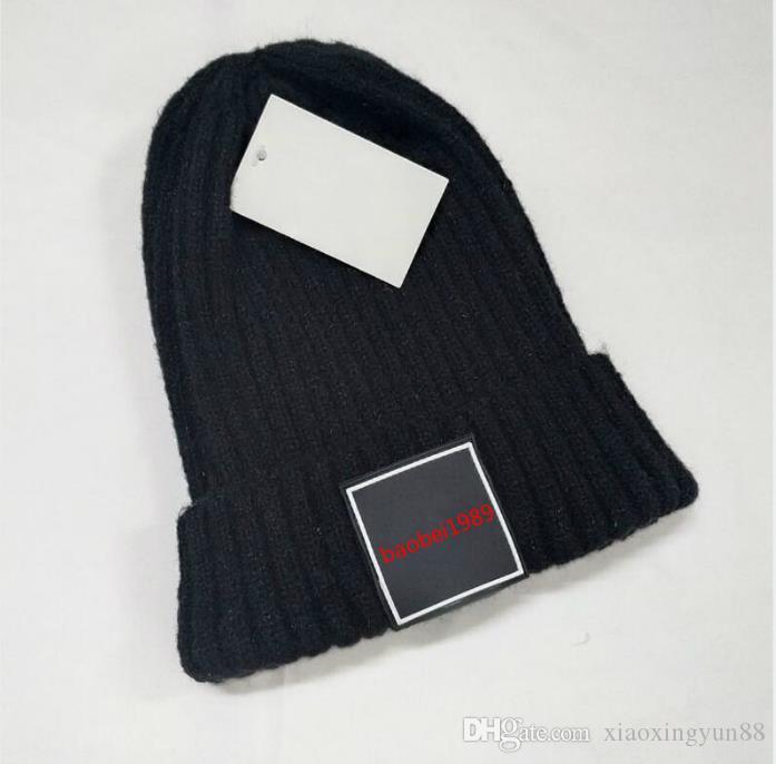 Marca chapéus de inverno moda classc Novas mulheres chapéu de malha homens gorros de pele grande pom-pom gorro menino casual meninas de esqui bonés de caveira
