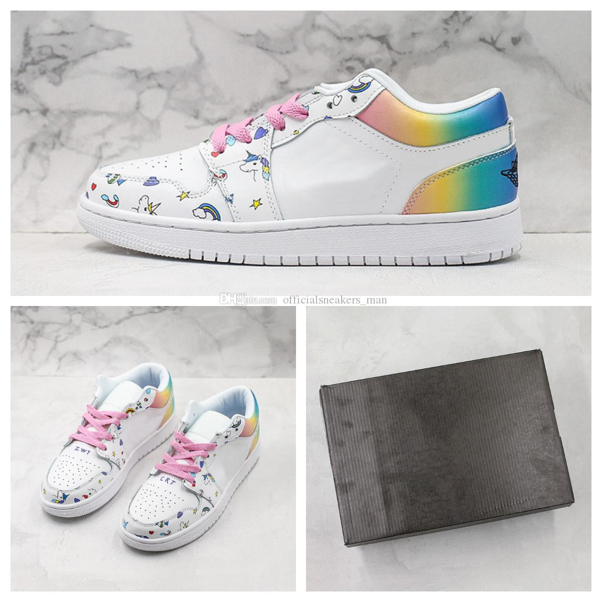 Custom Unicorn 1s Low Basketball Shoes