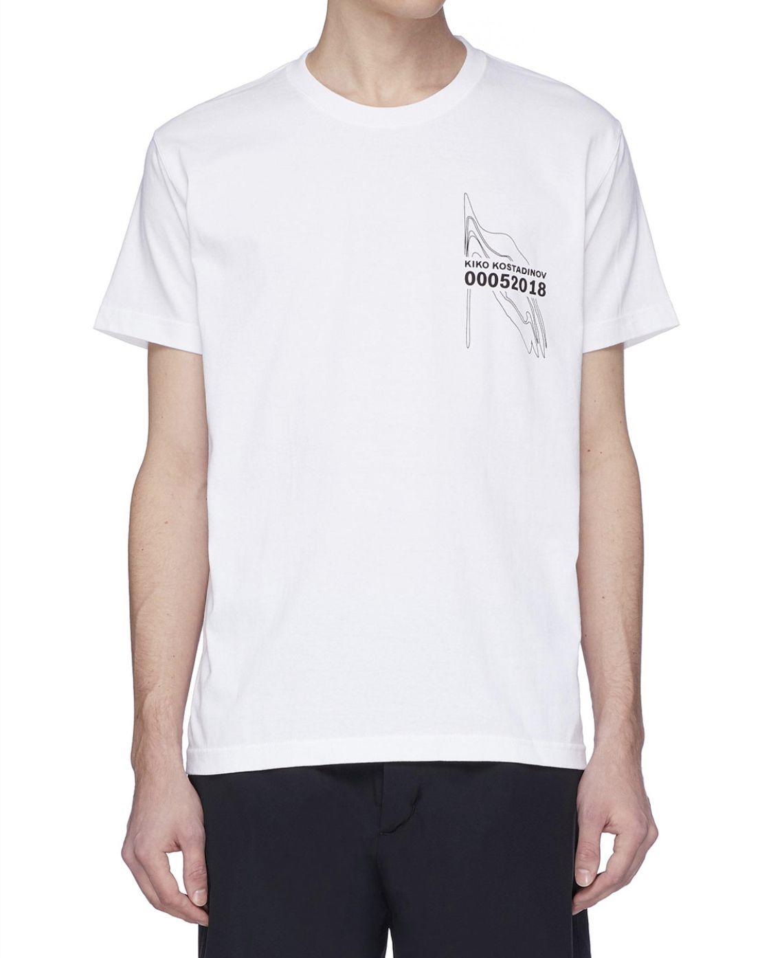Hombre del diseñador T Shirts Calle KIKO KOSTADINOV 00052018 camiseta del gráfico de manga corta suelta Mujeres Ropa Casual
