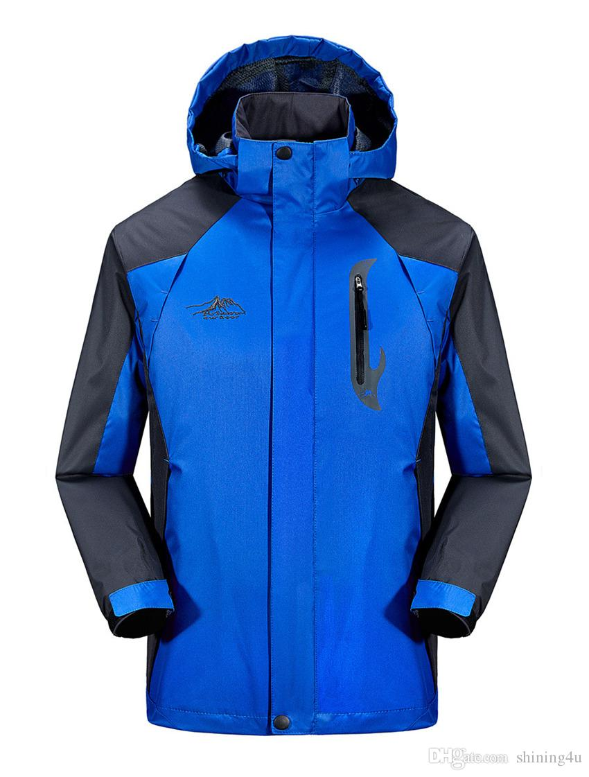 Hommes À Séchage Rapide Athlétique Vêtements de Plein Air Sport Extérieur Vestes Couche Simple Coupe-Vent Imperméable Mâle Camping Veste Mode Montagne Hoodies