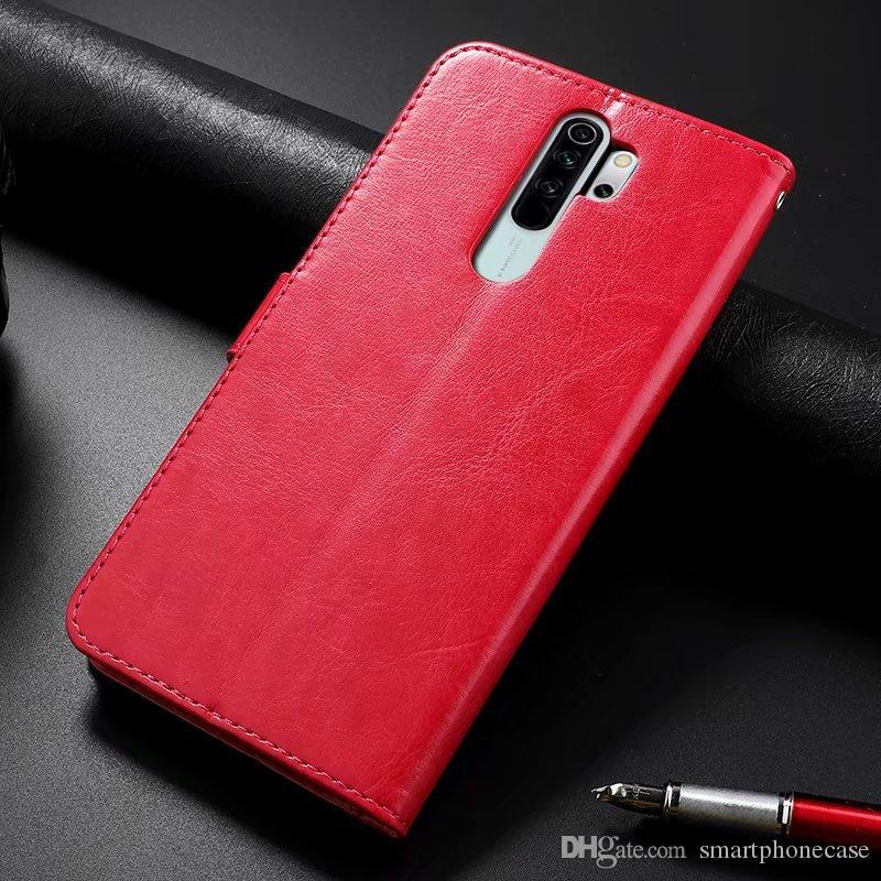 Per Cuoio originale Xiaomi redmi Nota 8T Classic Case copertura sottile di vibrazione di lusso di caso per Xiaomi redmi Nota 8T