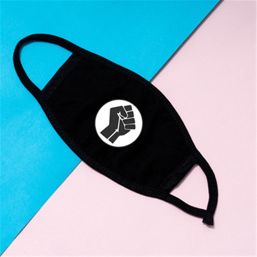 Anti Dust Face Mouth er Adult Children Pm2.5 Designer Printed Mask Dustproof Anti-l Washable Reusable Ice Silk Masks #280