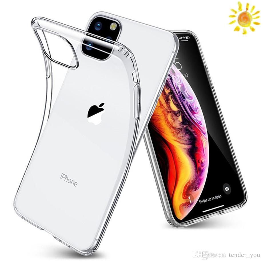 For Iphone Xr For Iphone11 Tpu 7Plus Clear Back Cover Case For Iphone 11 Pro Max Transparent Discount Cell Phone Cases Free Cell Phone Cases From