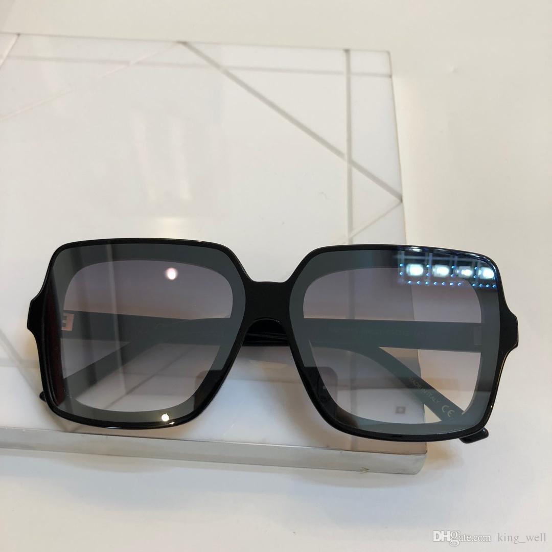 occhiali da sole alla moda -2019 nuovi occhiali da sole per gli uomini e le donne vanno con il modello di tendenza dimensioni RUSUITS 63-12-145