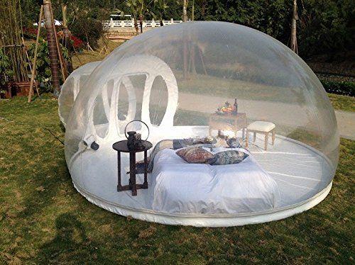 جميل فقاعة فندق نفخ للبيع شحن مجاني حر مضخة نفخ فقاعة خيمة 2-3 الناس كوخ الإسكيمو خيمة للتخييم