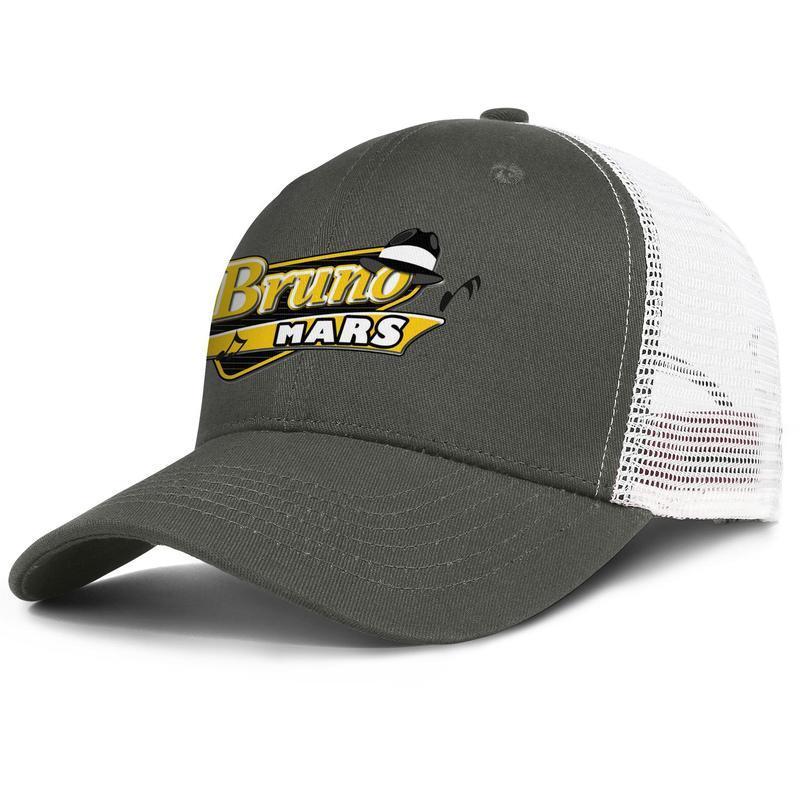 Bruno Mars Logo marque l'armée verte hommes et femmes camionneur conception ball casquette ajustée course casquettes 24K logo magie BRUNO MARS 24K MAGIC