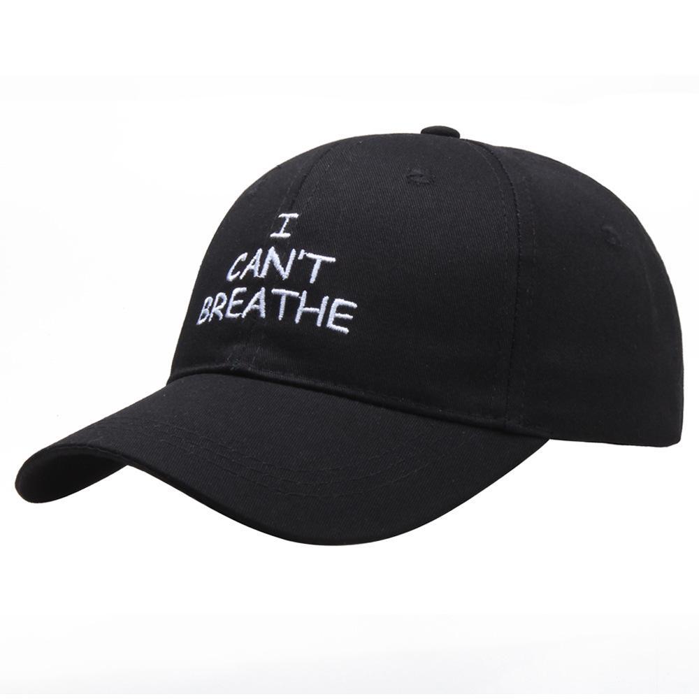 나는 야구 모자를 숨 질수 7 색 문자 인쇄 놓은 야외 여름 Snapbacks I 캔트 숨 모자 파티 모자 cny2170