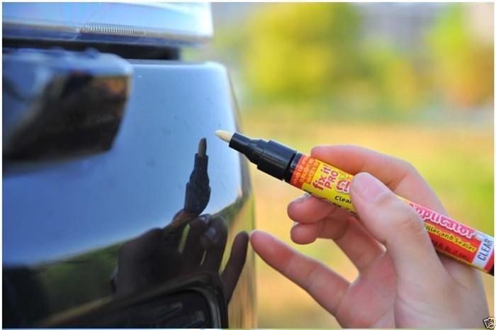 Herramienta Herramientas Cuidado del rasguño del coche coche nuevo removedor de la reparación de relleno sellador claro de la pluma de revestimiento de la mancha en busca de arañazos leves Sólo