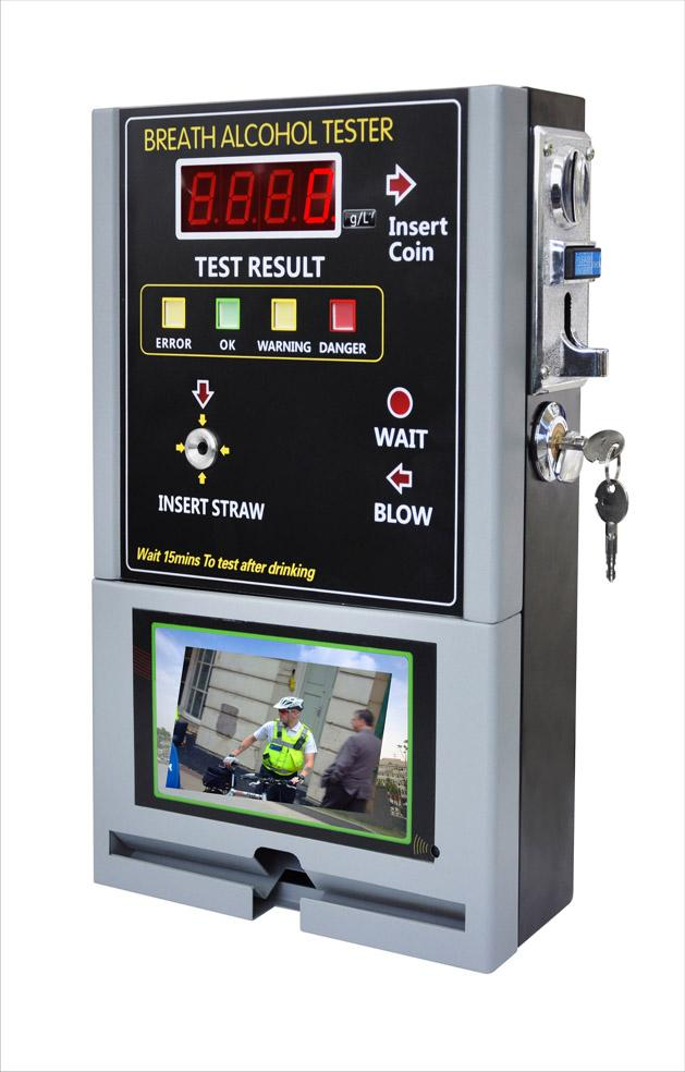 Coin-operated Breath Alcohol Tester china supplier new product breathalyzer