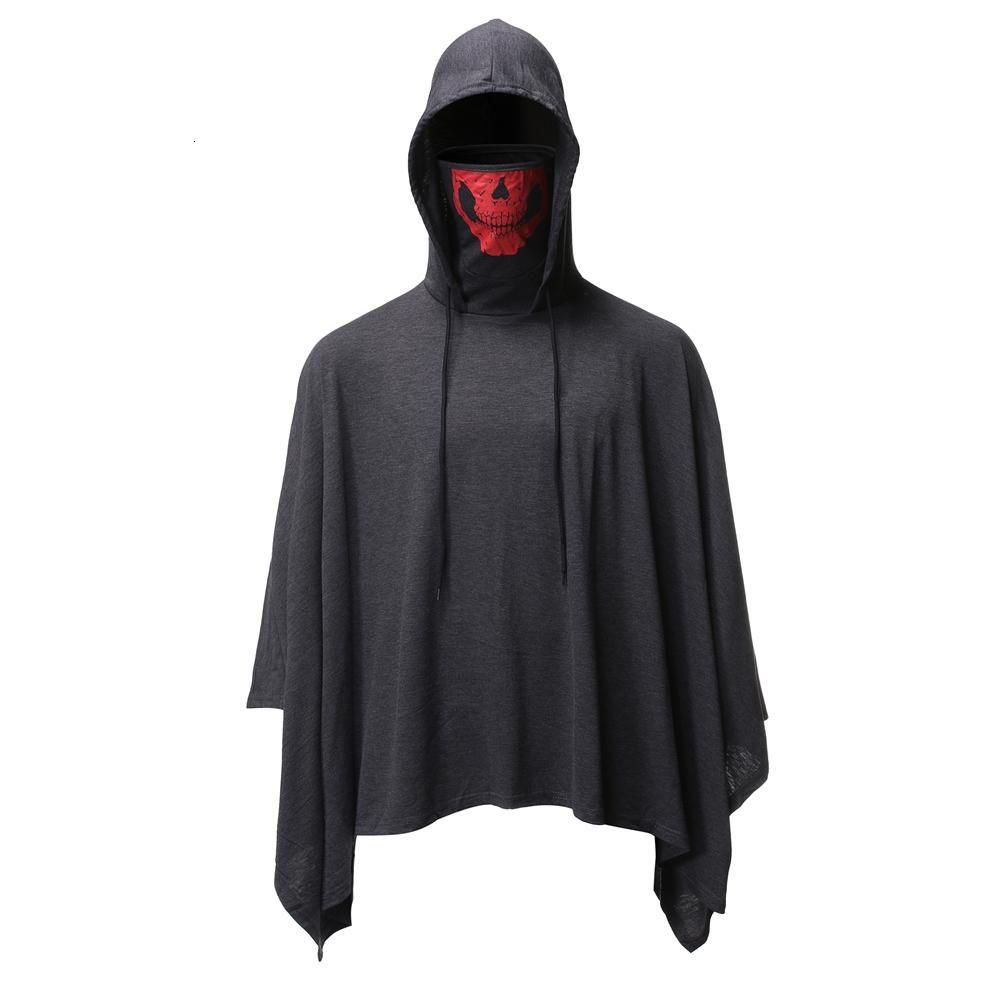Men's Big Size Hoodies Men's Sportswear Sportswear Personal Shawl Coat Leisure Party Clothing assassins creed hip hop F351