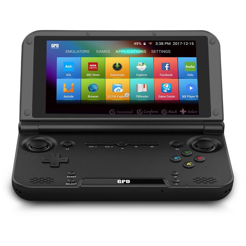 "GPD XD Plus-faltbare Handspielkonsolen 5"" Touchscreen, Android 7.0 Schneller Mediatek MT8176 Hexa-Core 2,1 GHz CPU, 4 GB RAM / 32 GB ROM, 6000mAh"
