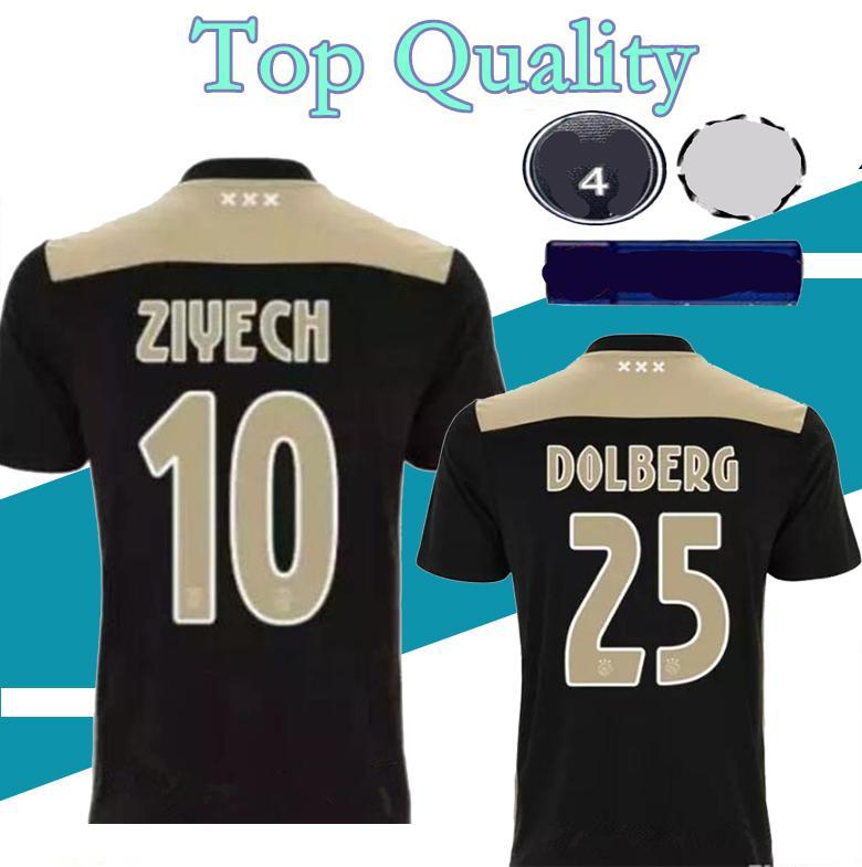 calidad tailandesa 2018 2019 Ajax FC camiseta de fútbol 18 19 KLAASSEN FISCHEA BAZOER Milik Bolberg camiseta de fútbol