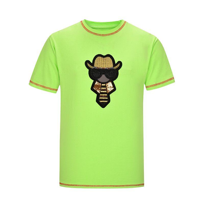 20ss роскошный новый прибытия дизайнер мужская футболка свободного покроя письмо печать Мужчины Женщины с коротким рукавом мужские дизайнерские рубашки размер