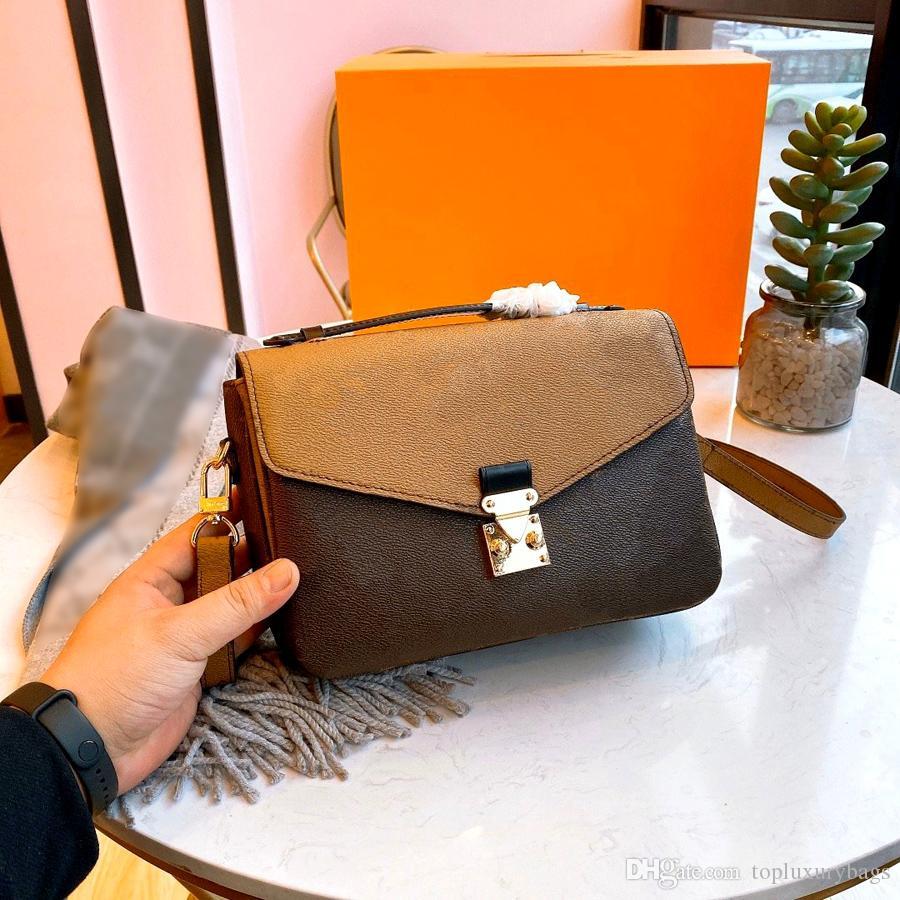 Hot vente Designer femmes de luxe sacs sac unisexe Sacs à bandoulière Sac à bandoulière Sac Messenger haute qualité amovible bandoulière
