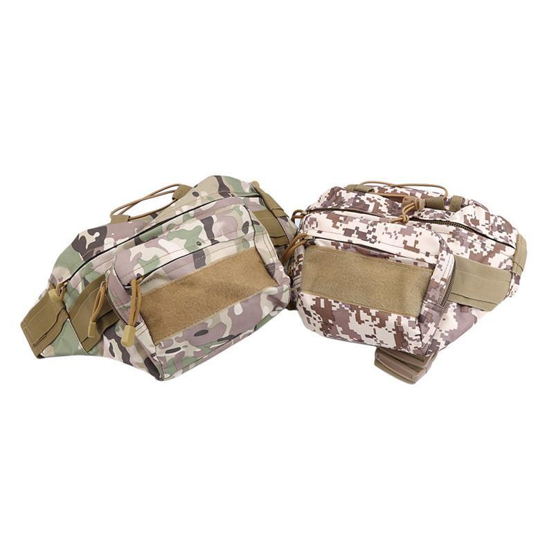 Ombro cintura Outdoor Saco tático Bolsa de Cintura Saco Multi-bolso Carteira Camping Caminhadas Pouch Belt Pouch Bolsa