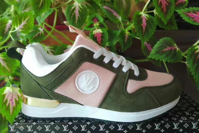 Hot NEW Designer tênis Marca Homem Mulher Sapatos Malha De Couro Cor Misturada Trainer Runner Shoes Unisex Tamanho EUA 4-11 run1986
