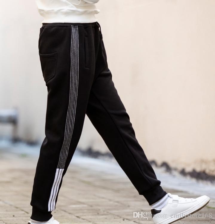 Büyük çocuk rahat pantolon ince çocuk sivrisinek geçirmez çocuk giyim kutusu ile fener 2019 yaz Boys pantolon