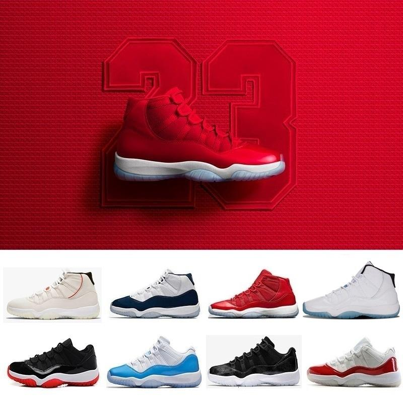 le Hot 11 high low Basketball Shoes men women 11s Cap and Gown Concord 23 45 Gym Red Midnight s Platinum Tint Gold Navy Gum j11 Sn