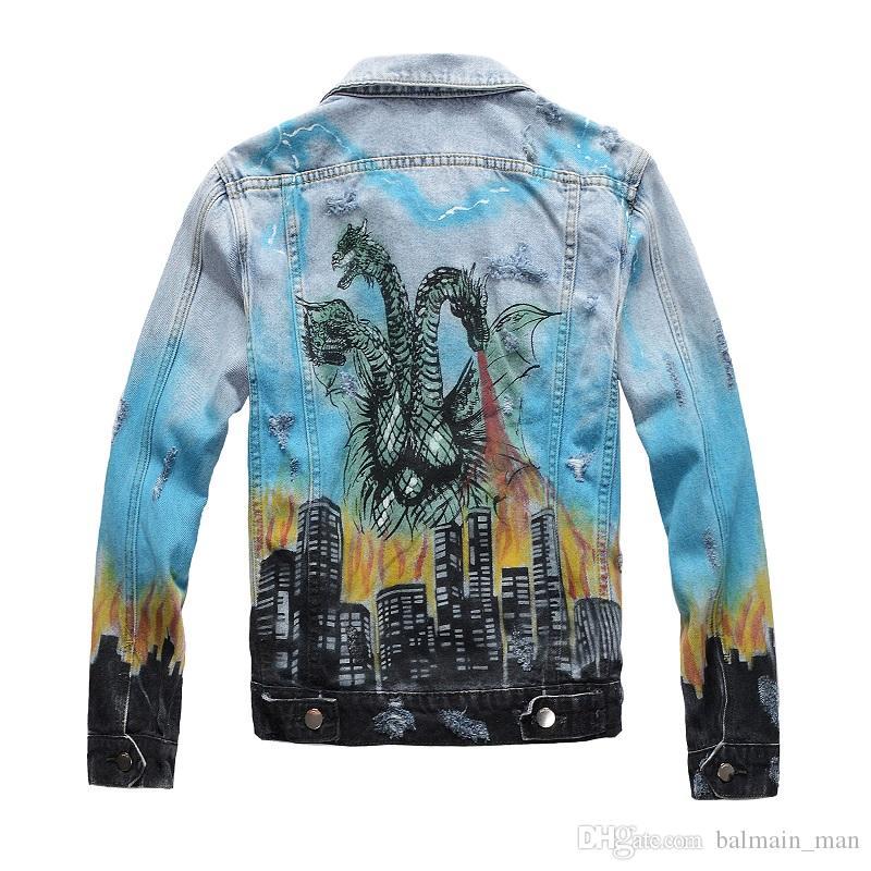 2020 homens desenhista jaquetas casuais moda homens mulheres denim casaco casual hip hop jean casaco longo manga ao ar livre wear jaqueta