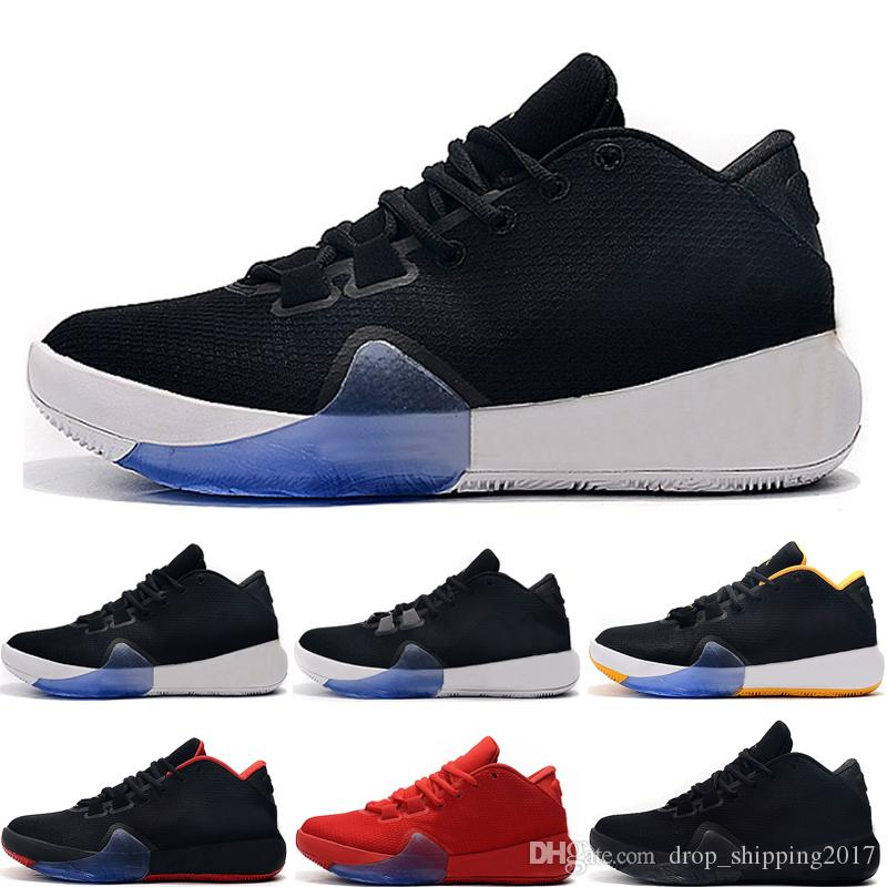 2019 New Fashion Freak 1 Giannis Antetokounmpo 1s Zapatillas de baloncesto Negro Rojo Amarillo Zoom GA1 Designer Zapatillas deportivas para hombre talla 8-12