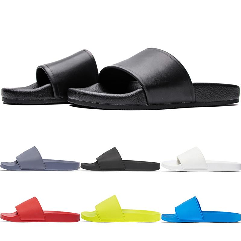 Pool Slide 3D Rubber Track-S Trainers Mens Slipper Speed Mule Flip Flop Round Italy Non-slip Women Casual Sandals Shoes With Dustbag No-Box