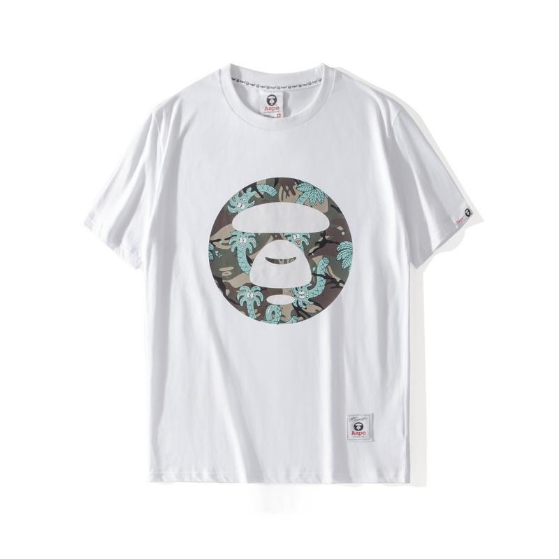 AAPE-T-Shirt der Männer Designer AAPE kurzen Ärmeln Frauen der Männer Designer Qualitäts-T-Shirt Cartoon Printin
