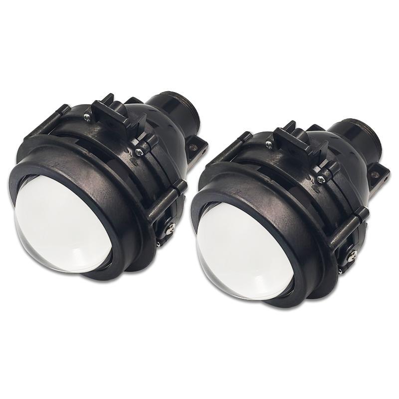 ثنائية البؤرة مصابيح Bi-Xenon العارض عدسة مصباح الضباب القيادة الأنوار السوبر مشرق مع HID لمبة H11 مقاوم للماء لكروز