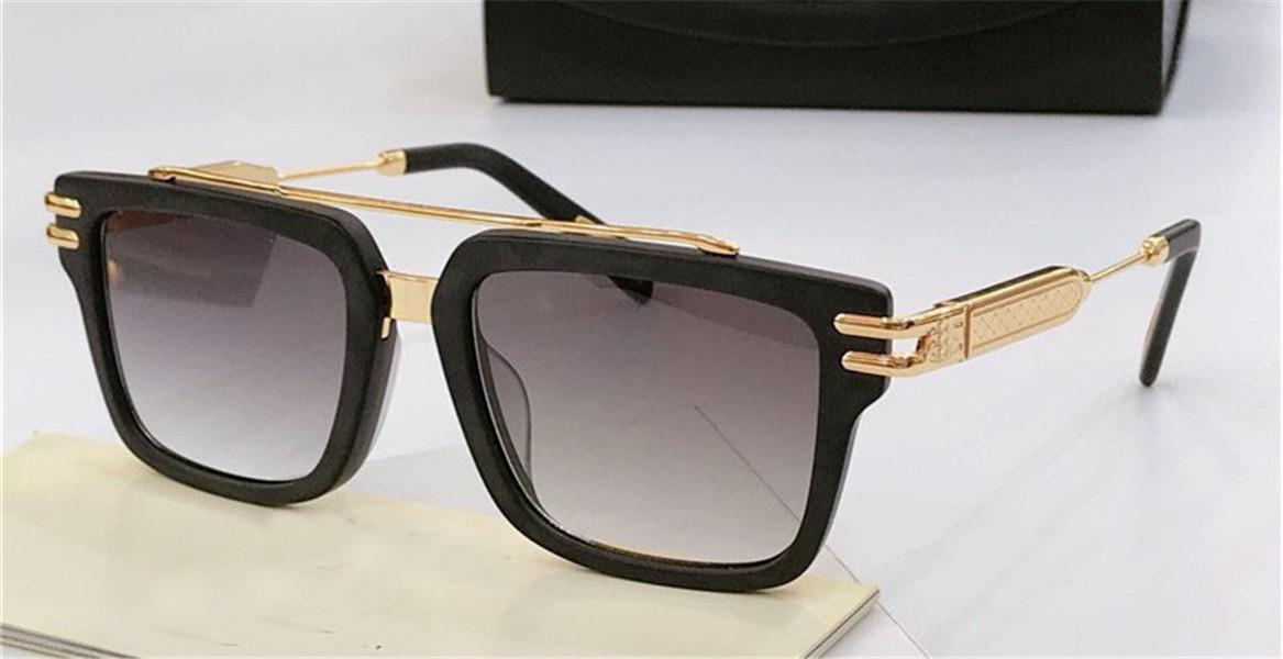 최고의 남자 안경 에이스 디자인 평방 K 골드 프레임 하이 엔드 최고 품질 야외 UV400 안경 선글라스