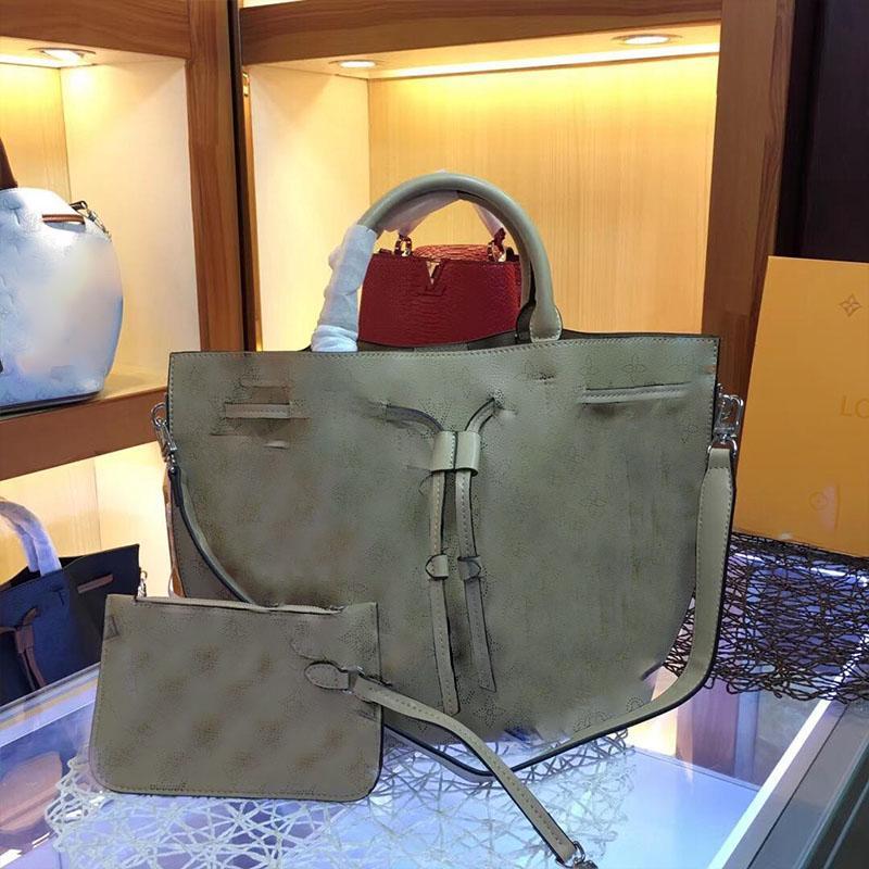 Girolata Luxuxhandtasche Frauen Designer-Taschen aus echtem Leder mit großer Kapazität Handtasche reizender Handtasche Tasche Handtaschenentwerfers