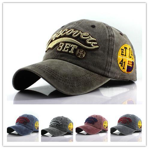 Mode Brief Baseball Männer und Frauen, den Sport Kappe Sommer Outdoor-Baseballmütze Reise Straßen Shade kühler Hut Stickerei-Kappe drucken
