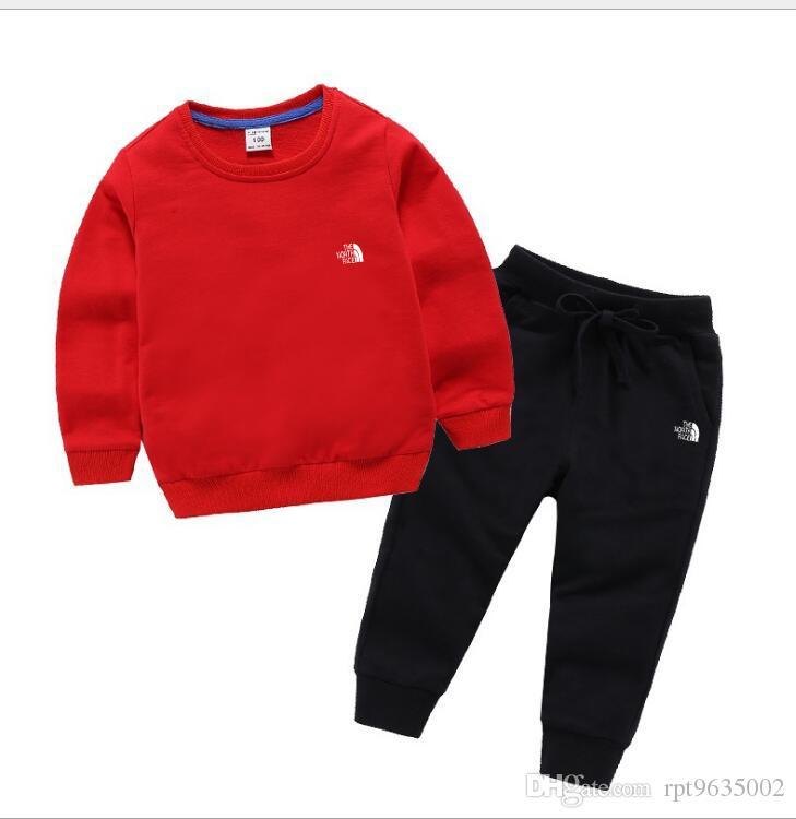 летняя рубашка новый мальчик Детская одежда комплект брюки с длинными рукавами 2 шт. толстовка свитер молния кардиган комплект одежды спорт досуг стиль