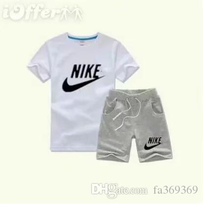 Baby Boys And Girls Designer T-shirts And Shorts Suit Brand Tracksuits 2 Kids Clothing Set Hot Sell Fashion Summer Children's T52466