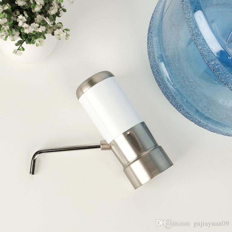 Şarj Edilebilir İçme Su Pompası Otomatik Su Dağıtıcı Taşınabilir Düğme Pompası Dağıtıcı Galon Şişe İçme Su Pompası Sıcak Satış