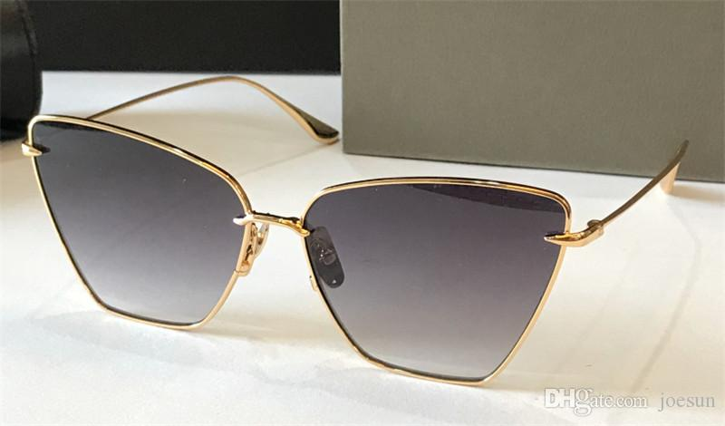 새로운 패션 선글라스 VOLNER 여성 디자인 금속 빈티지 인기있는 스타일 매력적인 고양이 눈 프레임 UV 400 개 렌즈 선글라스