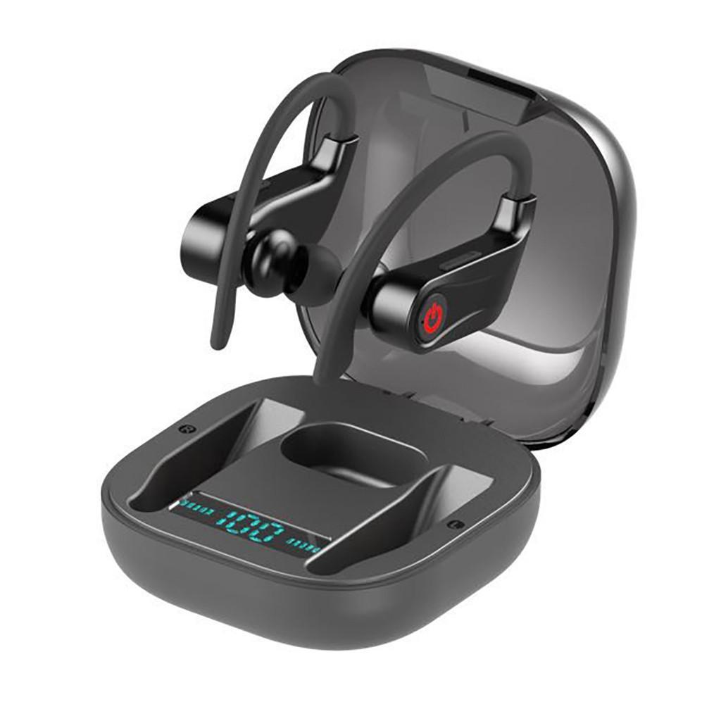 Q62 TWS Écouteurs sans fil Bluetooth v5.0 Sports Écouteurs étanches Économie d'énergie mobile Écouteurs intra-auriculaires Mains-libres Écouteurs