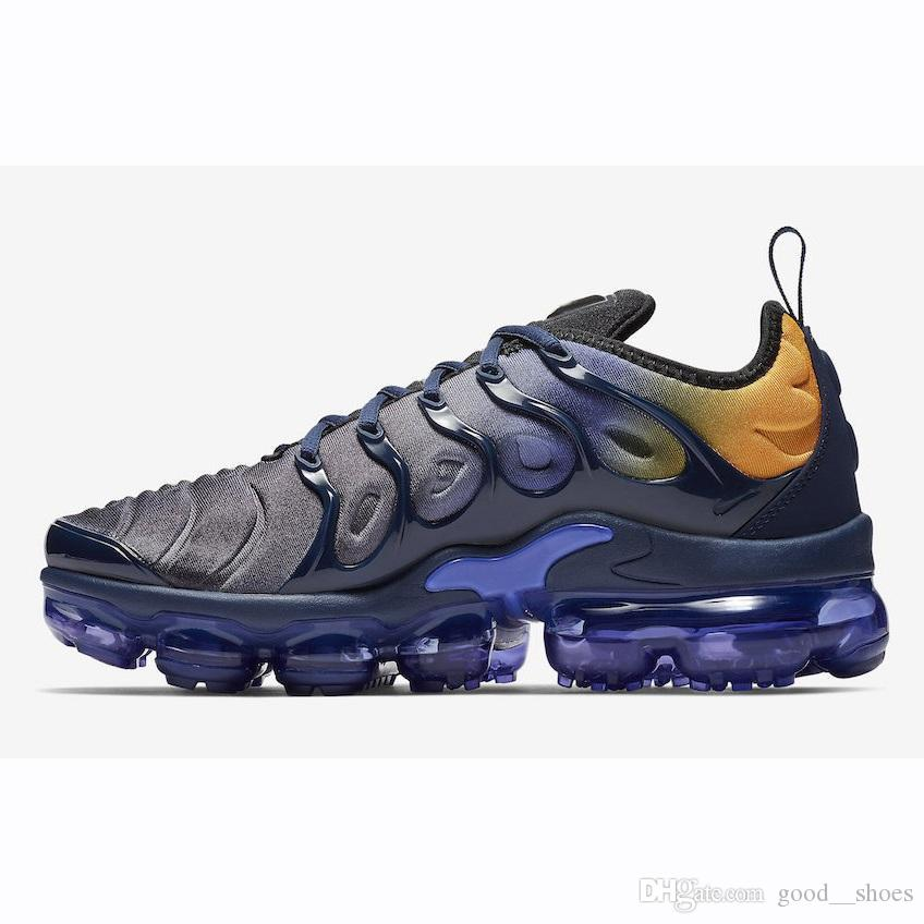 f6179d08c3 ... New colors TNS Plus Running shoes Fades Blue Rainbow Black Green Game  Royal USA White Orange ...