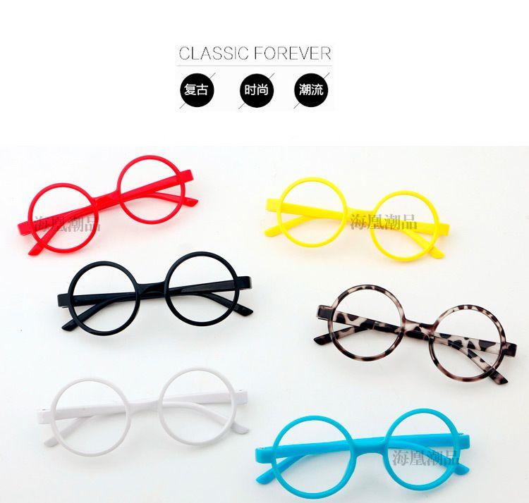 Colori coppie per occhiali da sole economici occhio bambini cornici cornici alla moda telai all'ingrosso lotti 30 occhiali da vista vari cornici di vetro prezzo round qrnib