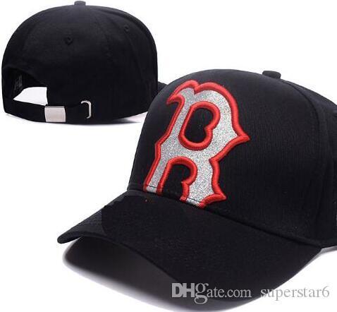 2019 migliore qualità Snapback Red Sox Berretto regolabile B Cappelli da baseball Snapbacks Strapback di alta qualità NY Sport berretto uomo donna bone 07