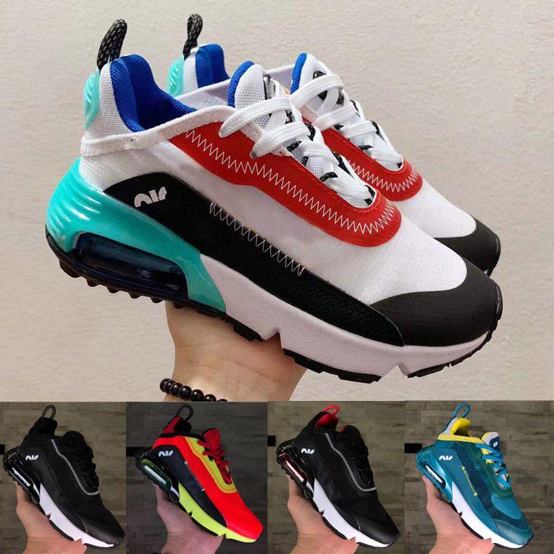 2020 جديد 2090 XX3 الهواء الأطفال الاحذية الصبي فتاة الشباب طفل الرياضة حذاء رياضة الحجم 26-35